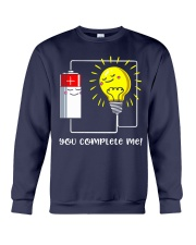 Science - you complete me Crewneck Sweatshirt thumbnail