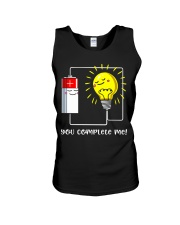 Science - you complete me Unisex Tank thumbnail