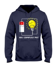 Science - you complete me Hooded Sweatshirt thumbnail
