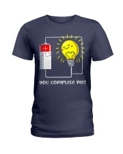 Science - you complete me Ladies T-Shirt thumbnail