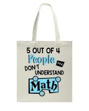 Math Understand Tote Bag thumbnail