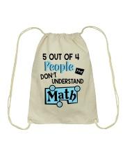 Math Understand Drawstring Bag thumbnail