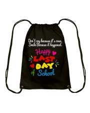 Happy last day of school Drawstring Bag thumbnail