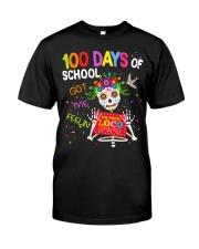 100 DAYS OF SCHOOL GOT ME FEELING Classic T-Shirt front