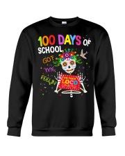 100 DAYS OF SCHOOL GOT ME FEELING Crewneck Sweatshirt thumbnail