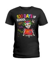 100 DAYS OF SCHOOL GOT ME FEELING Ladies T-Shirt thumbnail