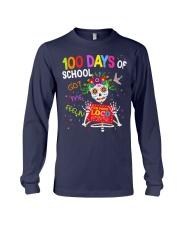 100 DAYS OF SCHOOL GOT ME FEELING Long Sleeve Tee thumbnail