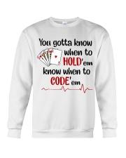 Nurse  Crewneck Sweatshirt thumbnail