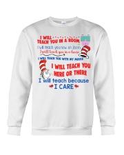 I Will Teach You In A Room Crewneck Sweatshirt thumbnail