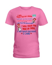 I Will Teach You In A Room Ladies T-Shirt thumbnail