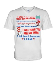 I Will Teach You In A Room V-Neck T-Shirt thumbnail