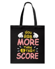 You are More than a Test Score Tote Bag thumbnail
