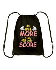 You are More than a Test Score Drawstring Bag thumbnail