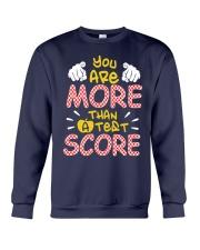 You are More than a Test Score Crewneck Sweatshirt thumbnail