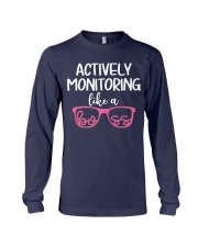 Actively monitoring like a boss Long Sleeve Tee thumbnail