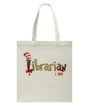 Librarian i am Tote Bag thumbnail