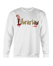 Librarian i am Crewneck Sweatshirt thumbnail