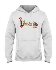Librarian i am Hooded Sweatshirt thumbnail