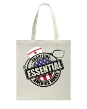 America Nurse Tote Bag thumbnail