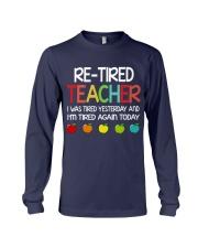 Retired Teacher Long Sleeve Tee thumbnail