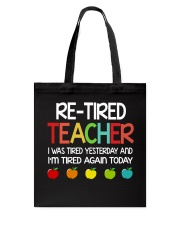Retired Teacher Tote Bag thumbnail