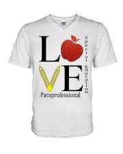 Special Education  V-Neck T-Shirt thumbnail