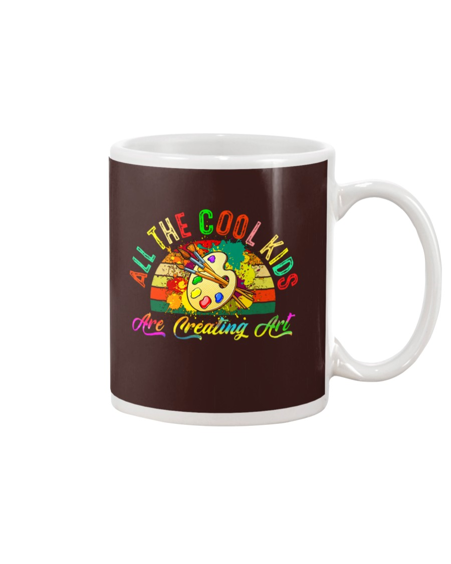 ALL THE COOL KIDS ARE CREATING ART Mug