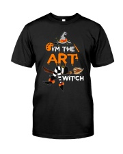 I'M THE ART WITCH Classic T-Shirt thumbnail