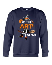 I'M THE ART WITCH Crewneck Sweatshirt thumbnail