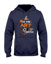 I'M THE ART WITCH Hooded Sweatshirt thumbnail