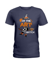 I'M THE ART WITCH Ladies T-Shirt thumbnail