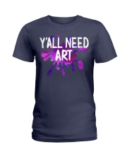 Y'ALL NEED ART Ladies T-Shirt tile