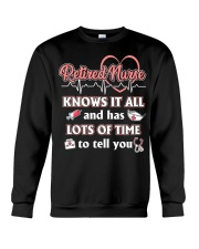Retired Nurse Crewneck Sweatshirt thumbnail