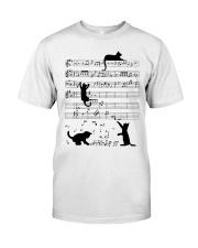 Cat Music Classic T-Shirt thumbnail