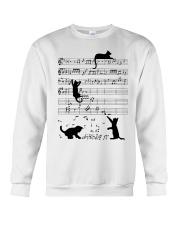 Cat Music Crewneck Sweatshirt thumbnail