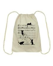 Cat Music Drawstring Bag thumbnail