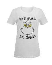IT'S ALL GOOD IN 1ST GRADE Ladies T-Shirt women-premium-crewneck-shirt-front