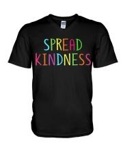 Spread Kindness V-Neck T-Shirt thumbnail