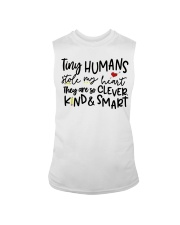 TINY HUMANS STOLE MY HEART THEY ARE SO CLEVER KIND Sleeveless Tee thumbnail
