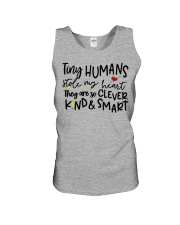 TINY HUMANS STOLE MY HEART THEY ARE SO CLEVER KIND Unisex Tank thumbnail