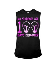 MY STUDENTS ARE 100 DAYS BRIGHTER Sleeveless Tee thumbnail