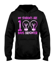 MY STUDENTS ARE 100 DAYS BRIGHTER Hooded Sweatshirt thumbnail