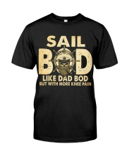 Sail Bod  Like Dad Bod Classic T-Shirt front