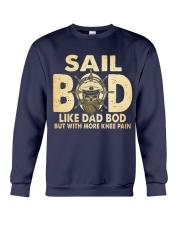 Sail Bod  Like Dad Bod Crewneck Sweatshirt thumbnail