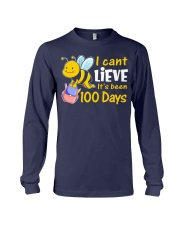 I CAN'T LIEVE IT'S BEEN 100 DAYS Long Sleeve Tee thumbnail