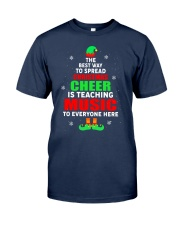 SPREAD CHRISTMAS CHEER IS TEACHING MUSIC Classic T-Shirt tile