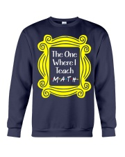 I Teach Math Crewneck Sweatshirt thumbnail