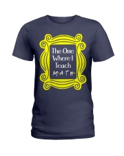 I Teach Math Ladies T-Shirt thumbnail