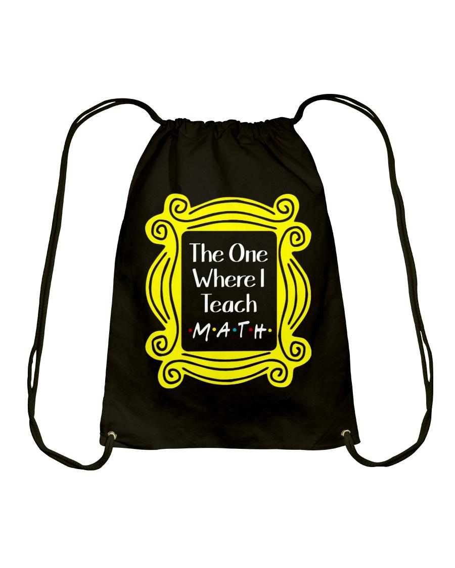 I Teach Math Drawstring Bag