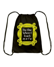 I Teach Math Drawstring Bag thumbnail